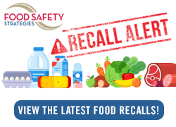 Food Safety Strategies Food Recalls