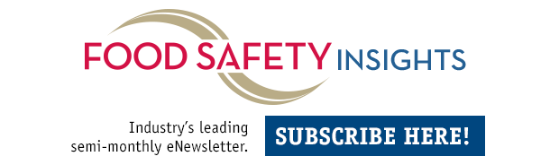 Food Safety Insights eNewsletter