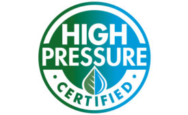 High Pressure Certified Logo - Beverage Industry